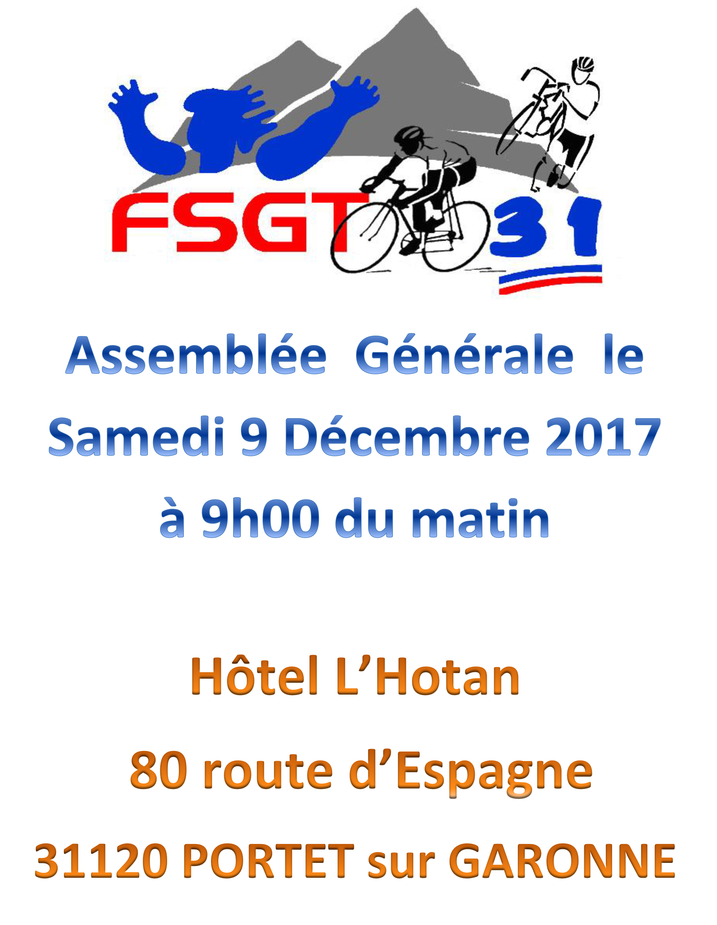 Affiche AG FSGT 2017 1