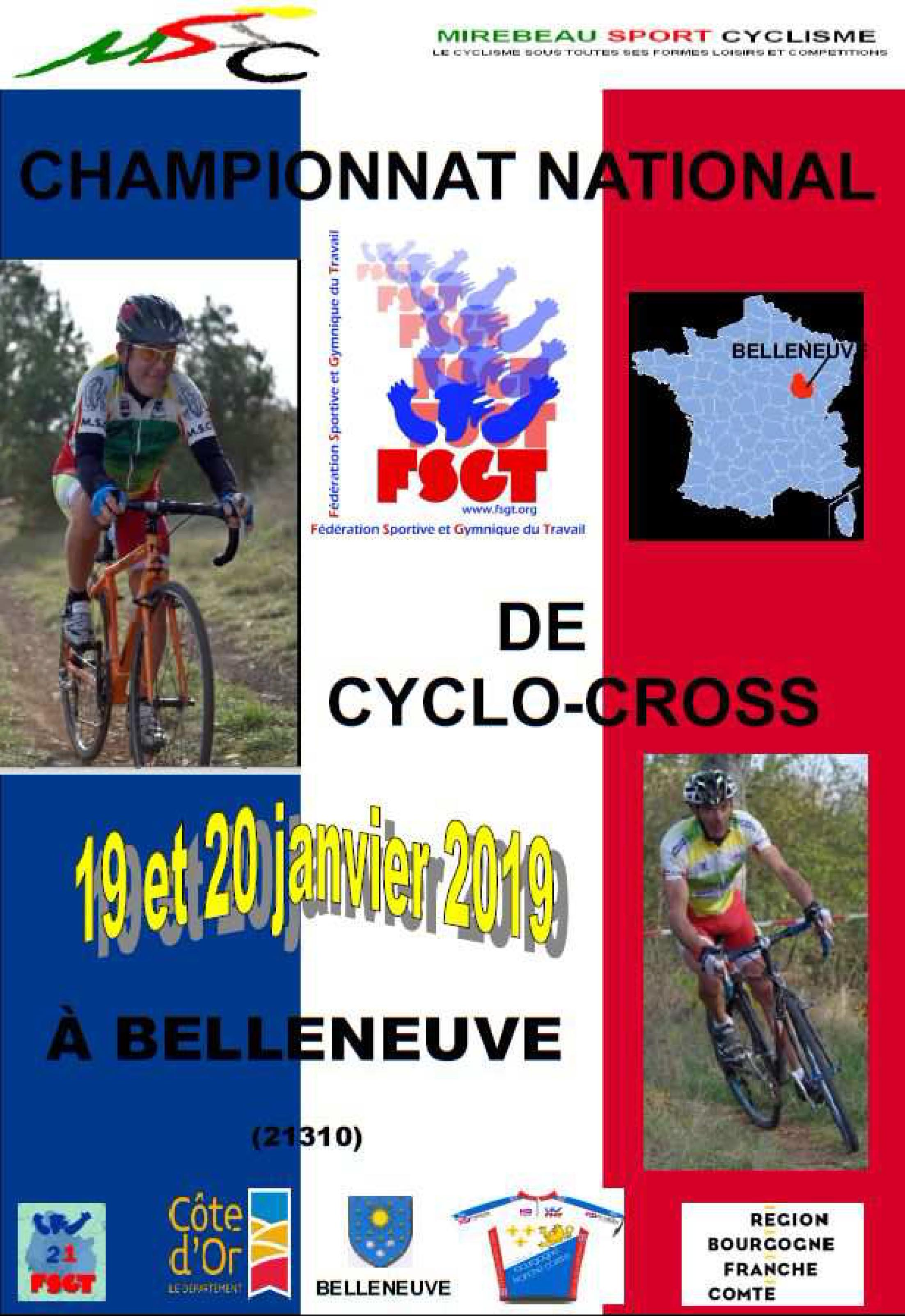 plaquette cyclo cross 2019