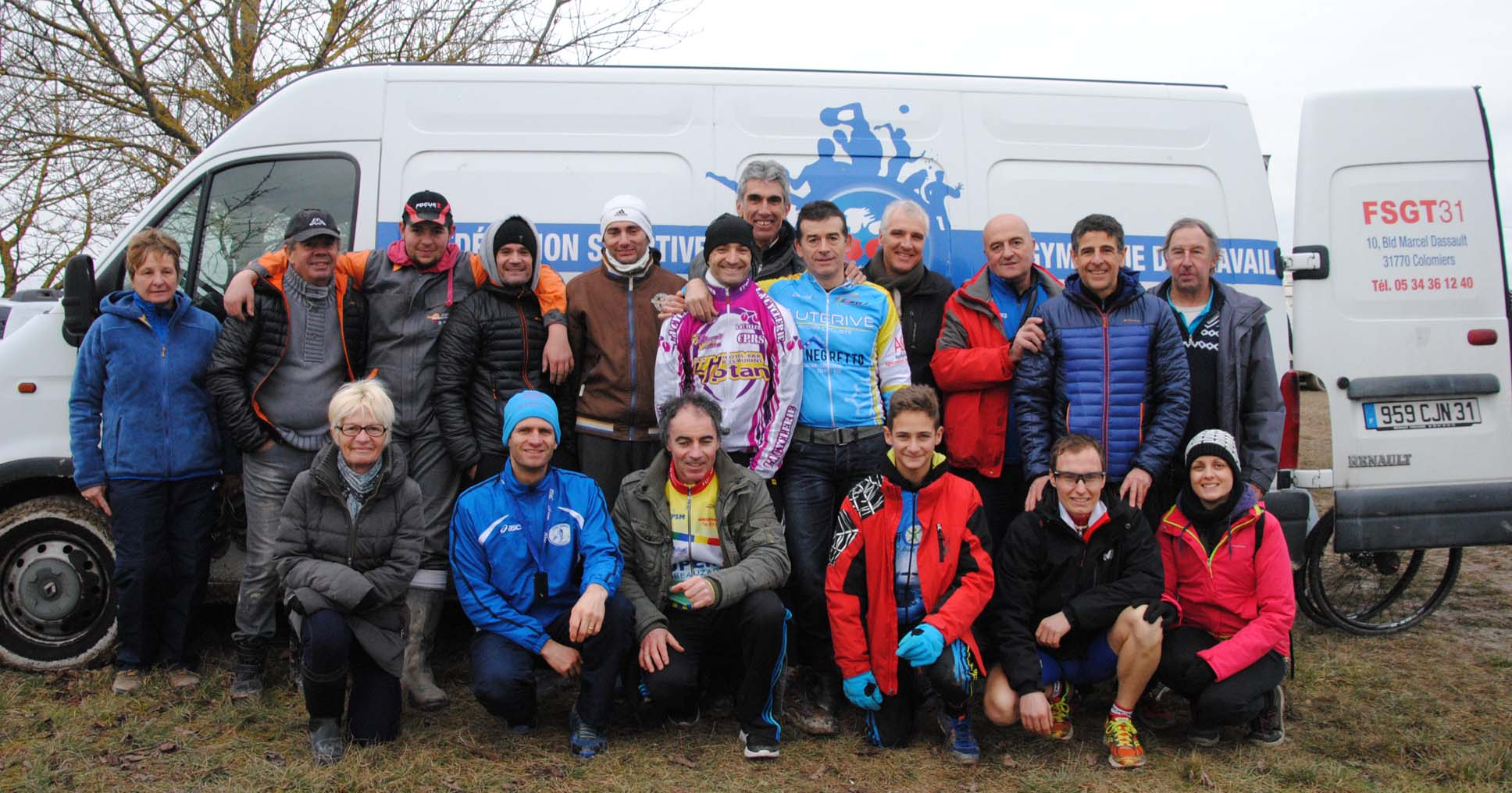 DELEGATION 31 AU NATIONAL CYCLO CROSS 2016