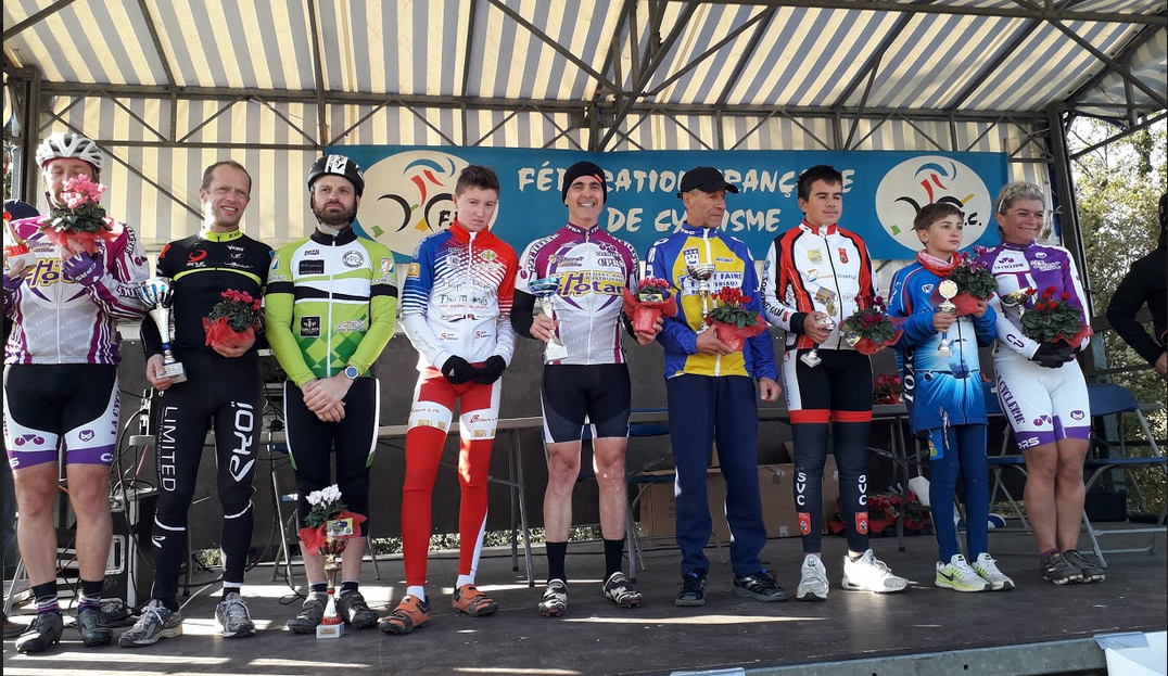 podium cx colomiers